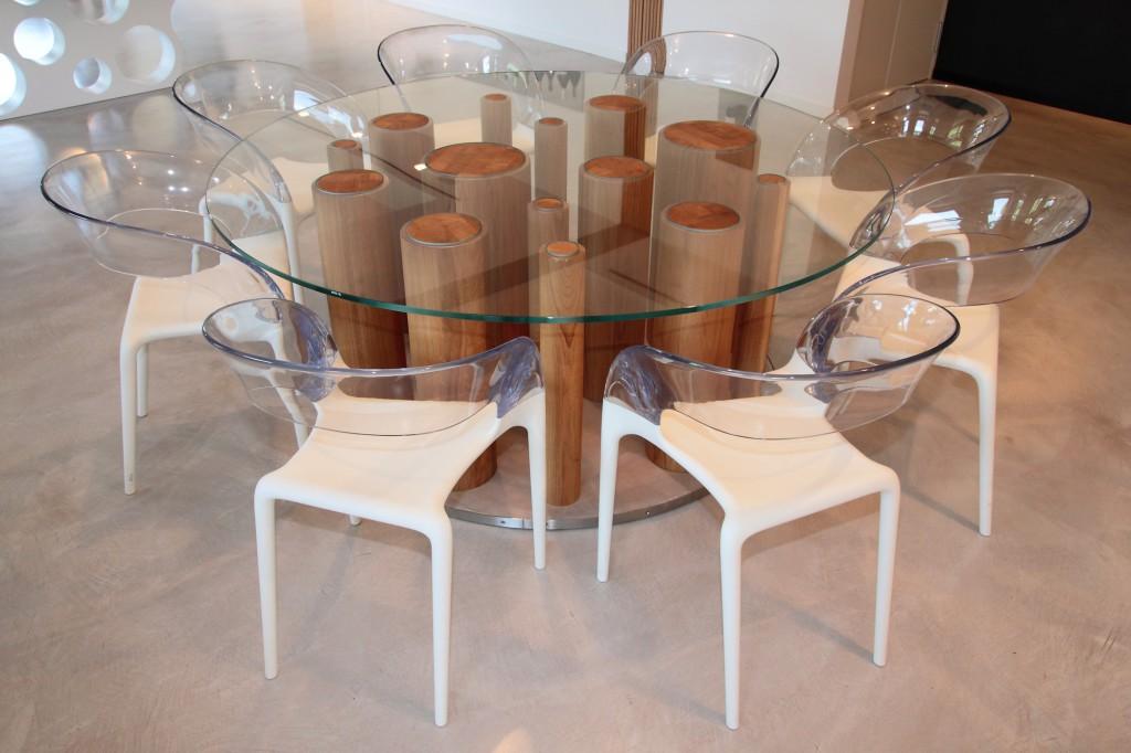 Tavoli e serramenti treviso for Tavoli in cristallo e acciaio