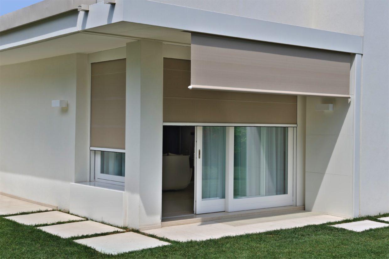 Porte finestre e alzanti scorrevoli e serramenti treviso - Tende per porte finestre ...
