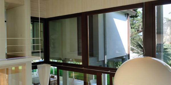 Porte alzanti scorrevoli di design